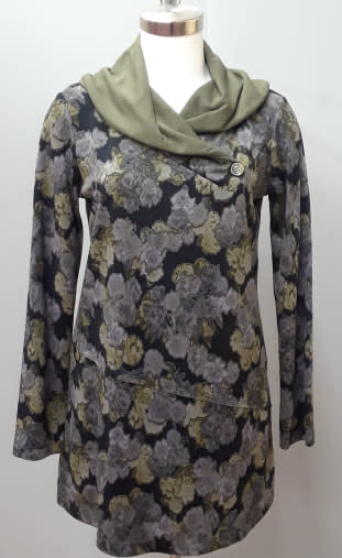 Pure Essence Cowl Tunic WC Lounge
