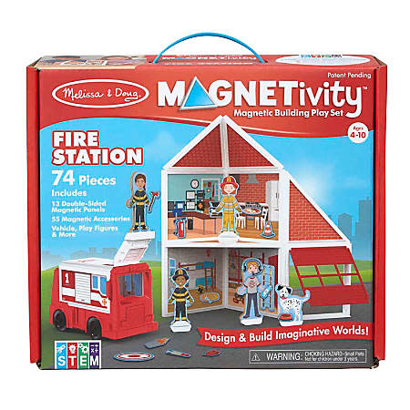 Melissa & Doug Magnetivity -  Fire Station
