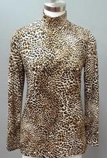 Alison Sheri Leopard TurtleNeck
