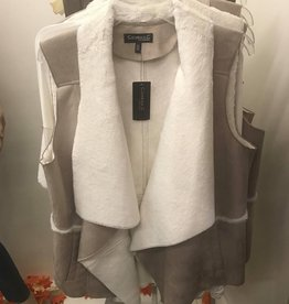 Conrad C Faux Fur Vest