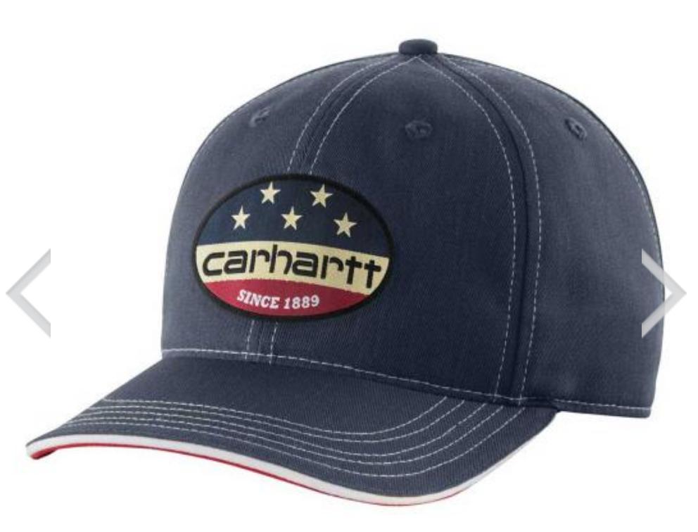 Carhartt Flag Patch Cap