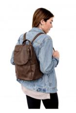 Joy Accessories by Joy Susan Kerri Side Pocket Backpack