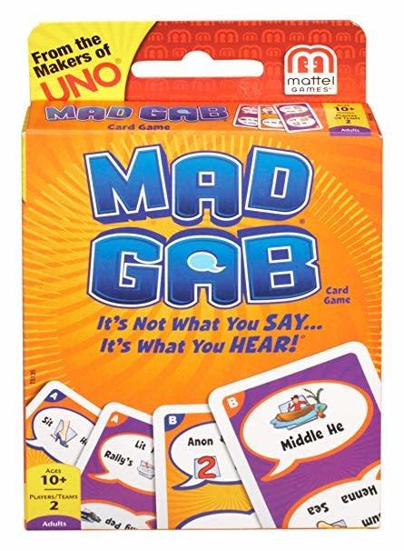 Mattel Mad Gab Card Game