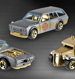 Mattel Hot Wheels Satin & Chrome Assorted