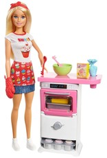 Mattel Barbie Bakery Chef Doll & Playset