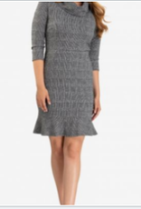 TRIBAL 3/4 Slv Cowl NK Dress