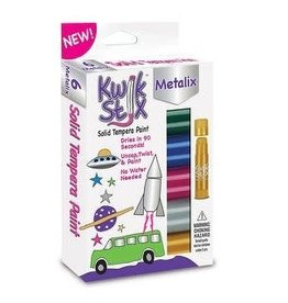 Continuum Games KwikStix 6ct Metallic Color Set