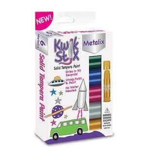 KwikStix 6ct Metallic Color Set