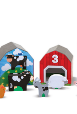 Melissa & Doug Nesting & Sorting Barns & Animals