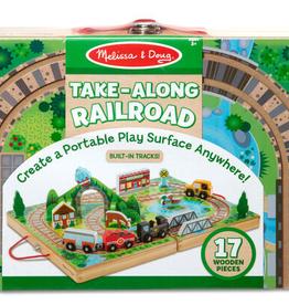 Melissa & Doug Take-Along Railroad