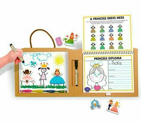 Melissa & Doug Play, Draw, Create - Princess