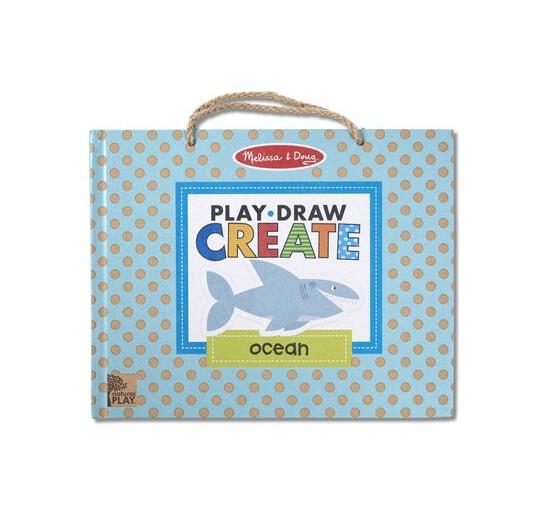 Melissa & Doug Play, Draw, Create - Ocean