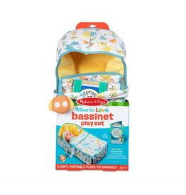 Melissa & Doug Mine to Love Bassinet Play Set