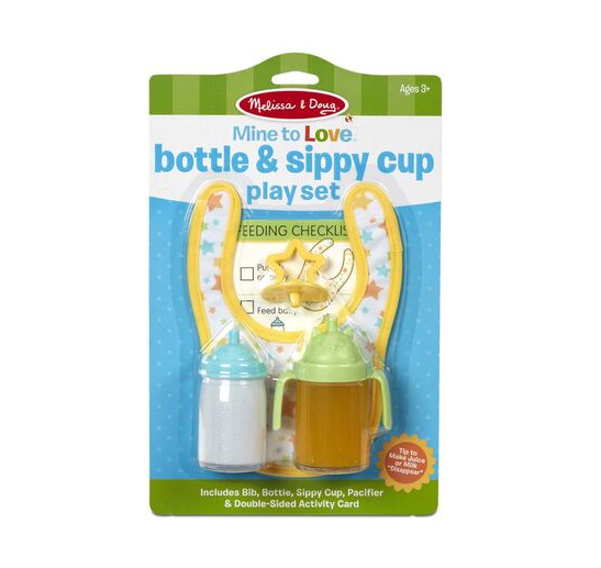 Melissa & Doug Bottle & Sippy Cup Play Set