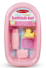 Melissa & Doug Mine to Love, Doll Bathtub Set