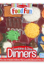 Melissa & Doug Food Fun Combine & Dine Dinners - Red