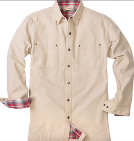 Backpacker Stone Canvas Shirt Jacket