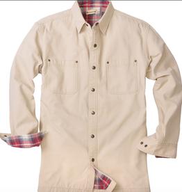 Backpacker Stone Canvas Shirt Jacket