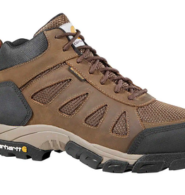 Carhartt Footwear - Black Diamond Men's Lightweight Waterproof Black/Brown Work Hiker