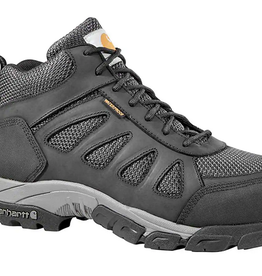Carhartt Footwear - Black Diamond Men's Lightweight Waterproof Black Work Hiker, Carbon Nano Toe