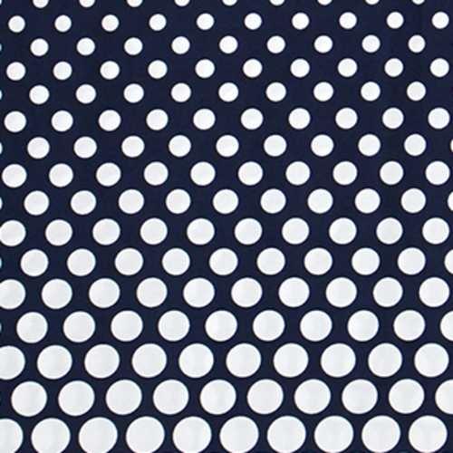 3/4 Slv Dot Border Dress