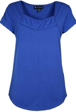 N TOUCH Cap Sleeve Solid Top