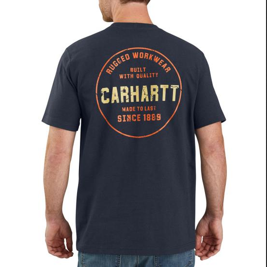 Carhartt TK178 M Relaxed Fit SS Graphic Tshirt