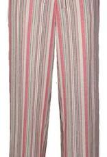 N TOUCH Jossilee Yarn Dye Striped Linen Pants