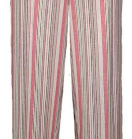 Jossilee Yarn Dye Striped Linen Pants