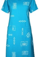 Short Sleeve Senorah Printed Dress