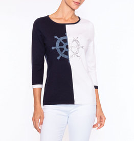 Alison Sheri Nautical Sweater