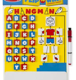 Melissa & Doug Flip to Win Hangman