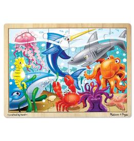 Melissa & Doug Jigsaw Puzzle (24pc)- Under the Sea