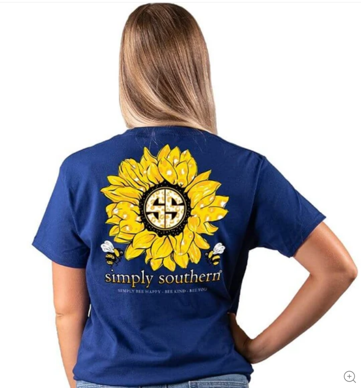 Simply Southern SS Sunflower Tee