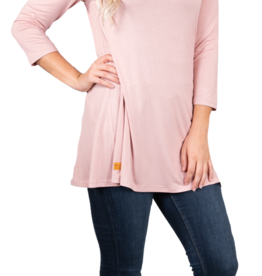 Simply Southern Solid Cross Tunic