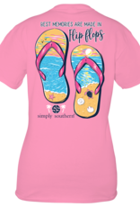 Simply Southern SS Best Memories are made in Flip Flop