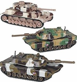 Toysmith Pull Back Army Tanks