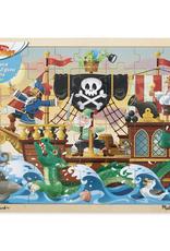 Melissa & Doug Jigsaw Puzzle (48pc)- Pirate Adventure