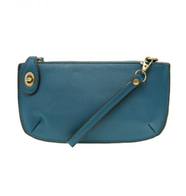 Mini Crossbody Wristlet Clutch - Monaco Blue