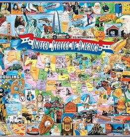 White Mountain Puzzle United States of America