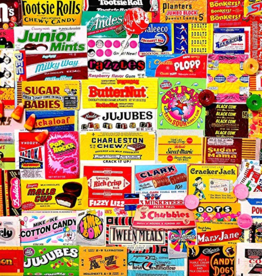 White Mountain Puzzle Candy Wrappers