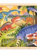 Melissa & Doug Dinosaur Jigsaw (24PC)
