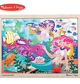 Melissa & Doug Jigsaw Puzzle (48pc)- Mermaid Fantasea