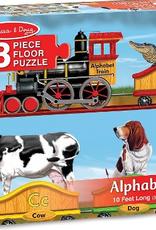 Melissa & Doug Floor Puzzle (28pc)- Alphabet Train
