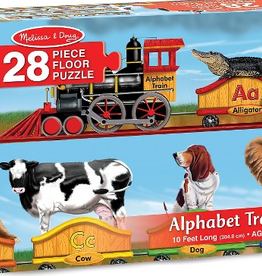 Melissa & Doug Floor Puzzle (28pc)- Alphabet Train