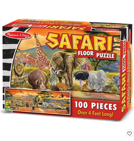 Melissa & Doug SAFARI FLOOR PUZZLE (100PC)