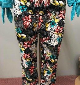 Pure Essence Capri Floral Pants