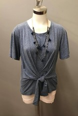 Pure Essence TIe in front short sleeve