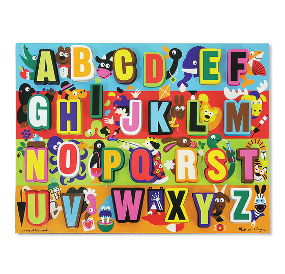 Melissa & Doug Chunky Puzzle-Jumbo ABC