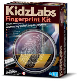 Toysmith Fingerprint Kit Detective Science